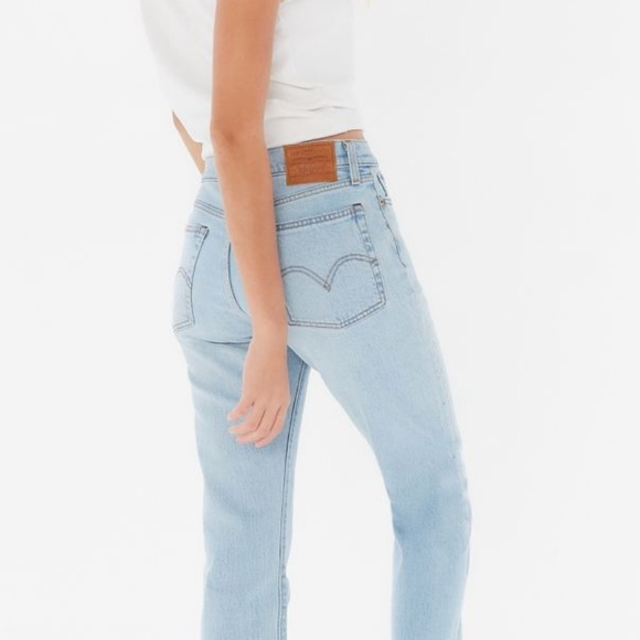 Levi's Denim - Levi's high waisted wedgie jeans